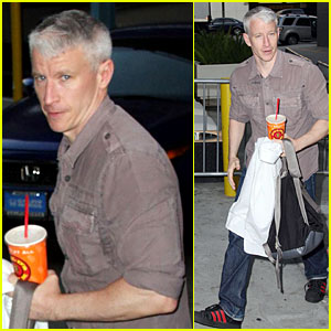 Anderson Cooper: Gold's Gym Guy