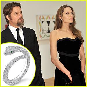 Brad Pitt & Angelina Jolie: Jewelry Designers for Asprey