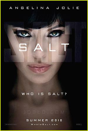 Angelina Jolie: New Salt Poster!