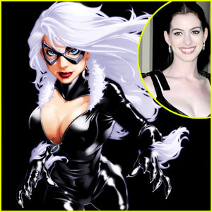Anne Hathaway: Spider-Man's Black Cat?