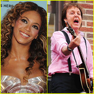 Beyonce & Paul McCartney Will Rock Your Thanksgiving