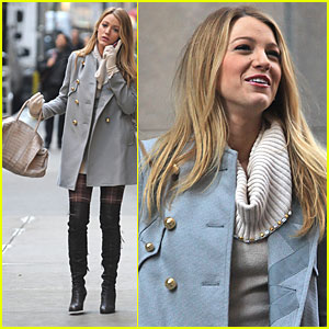 Blake Lively: Gossip Girl Menage a Trois Tonight!
