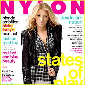 Blake Lively Covers 'Nylon' November 2009
