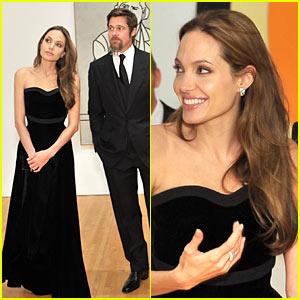 Brad Pitt & Angelina Jolie: MOCA Mates