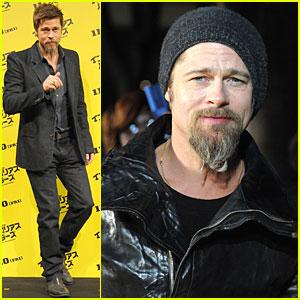 Brad Pitt Brings 'Inglourious Basterds' to Tokyo