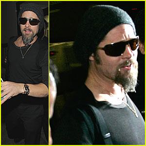 Brad Pitt is Back in Town