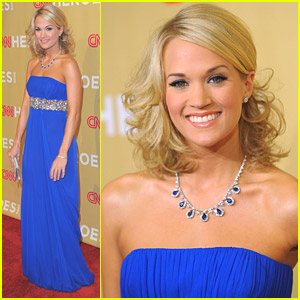 Carrie Underwood Honors The 2009 CNN Heroes