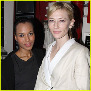 Cate Blanchett & Kerry Washington Run The Race