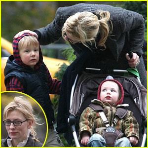 Cate Blanchett Celebrates A 'Roman' Holiday