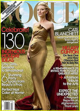 Cate Blanchett Covers 'Vogue' December 2009