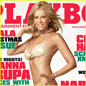 Chelsea Handler Covers 'Playboy' December 2009