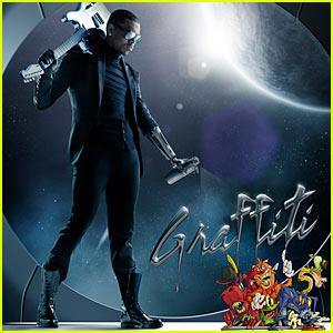Chris Brown: 'Graffiti' Album Cover Revealed!