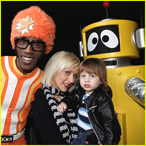 Christina Aguilera & Max Bratman: Yo Gabba Gabba!