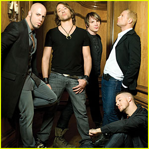 Daughtry Concert To Stream Live on JustJared.com