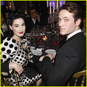 Dita Von Teese & Louis Marie: Dolce & Gabbana Duo