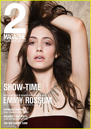 Emmy Rossum Covers 2 Magazine