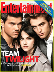 Twilight Covers 'Entertainment Weekly'
