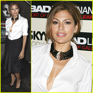 Eva Mendes Loves The Bad Lieutenant