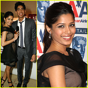 Freida Pinto &#038; Dev Patel are BAFTA Blissful