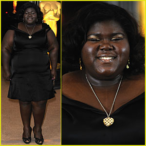 Gabourey Sidibe is Governors Awards Alluring