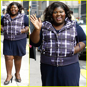 Gabourey Sidibe is 'Precious' At David Letterman