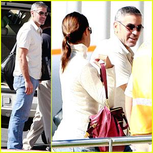 George Clooney & Elisabetta Canalis: Adios, Los Cabos