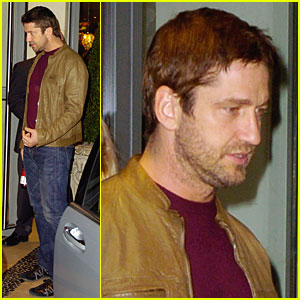 Gerard Butler: Celebrating His 40th In London!
