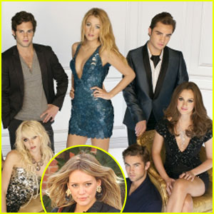'Gossip Girl' Threesome Revealed