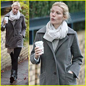 Gwyneth Paltrow Has Coffee And A 'Danish'