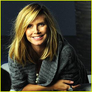 Heidi Klum: Ann Taylor's New Face!