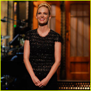 January Jones Hosts SNL -- VIDEO!