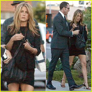 Jennifer Aniston Attends Kelsie Gigandet's Wedding