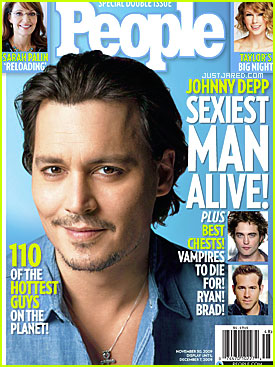 Johnny Depp is 2009's Sexiest Man Alive - For Real This Time