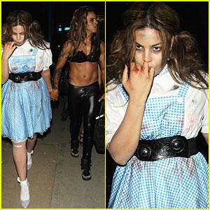 Jordin Sparks' Halloween Costume: Killer Dorothy!