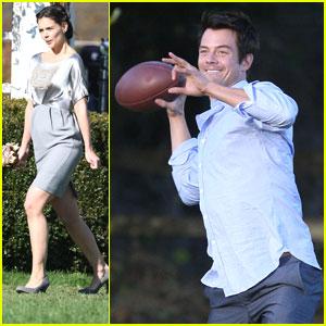 Katie Holmes & Josh Duhamel: 'Romantic' Wedding and Football