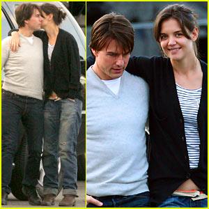 Katie Holmes to Tom Cruise: B. Good!
