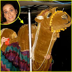 Katy Perry's Halloween Costume: Camel's Hump!