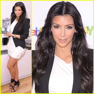 Kim Kardashian Is Excited About eBay