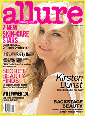 Kirsten Dunst Covers 'Allure' December 2009