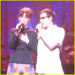 Leighton Meester & Weezer: Concert Video!