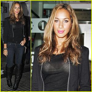 Leona Lewis Sheer Looks Sexy!