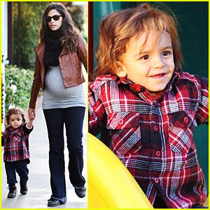 Camila Alves & Levi McConaughey Play in the Park