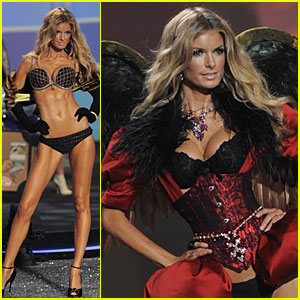 Marisa Miller Wears $3 Million Bra at VS Fashion Show