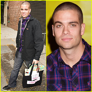 Mark Salling Interview -- JustJared.com Exclusive