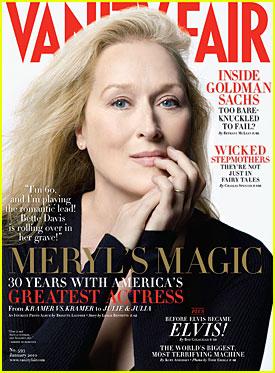 Meryl Streep Covers 'Vanity Fair' January 2010