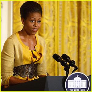 Michelle Obama Talks Insurance Reform