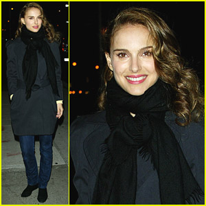 Natalie Portman Dishes With David Letterman