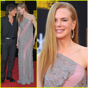 Nicole Kidman & Keith Urban - AMAs 2009 Red Carpet