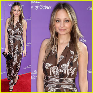 Nicole Richie Marches On For Celebration Of Babies
