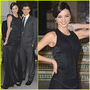Orlando Bloom & Miranda Kerr: Thanksgiving in Morocco!